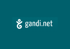 Gandi.net - COM域名活动 首年1美元注册 赠送Whois隐私保护